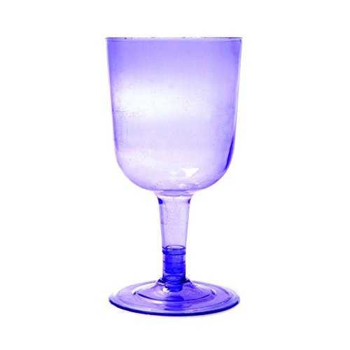 288 Units per Box Plastic Wine Glasses 6 oz Purple Ideal for Parties Multiple Colors Available By Topenca Supplies Party