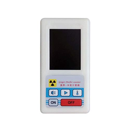 Counter Nuclear Radiation Detector Display Screen Dosimeter Geiger Counters(Color:White)