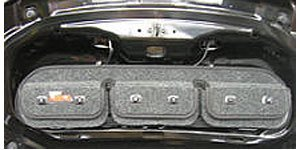 Covercraft Custom Pocket Pods; Trunk Storage Bag Model # TO1015CH Charcoal 3 CH