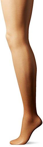 L'eggs Women's Silken Mist 3 Pack No Waistband Control Top Panty Hose, Sun Beige, Q ()