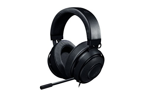 Razer Kraken Pro V2 - Oval Ear Cushions - Analog Gaming Headset for PC, Xbox One and Playstation 4, - Kraken A