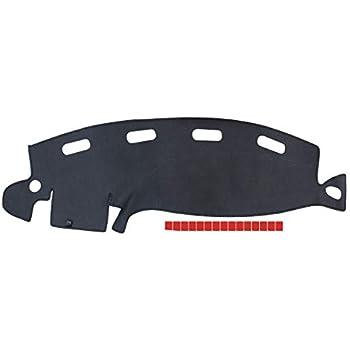 NewYall Gray Dashboard Cover Dash Mat Pad Dashmat