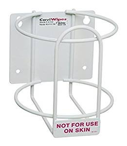 Metrex 13-1175 CaviWipes Canister Wall Bracket (Pack of 12)