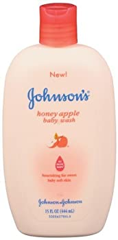 Johnson's Baby Wash - Honey Apple - 15 oz