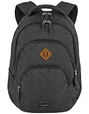 travelite Ryggsäck handbagage med laptopfack 15,6 tum, bagageserie BASICS Daypack Melange: Trendig ryggsäck i melange look, 45 cm, 22 liter