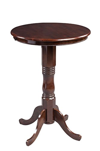 Boraam 70366 Spectator Pub Table, Cappuccino - Cherry Finish Pub Game Table