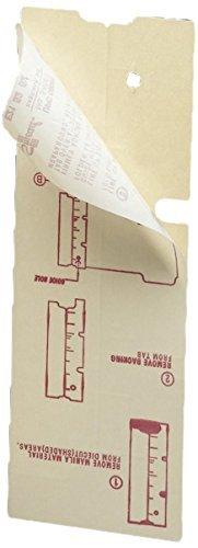 Smead Folder End Tab Converter, Reinforced 8 High Tab, Letter/Legal, Manila, 500 per Box (68080) by Smead by Smead