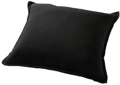 2, Black IKEA Cushion Throw Pillow Cover Gurli 20 X 20