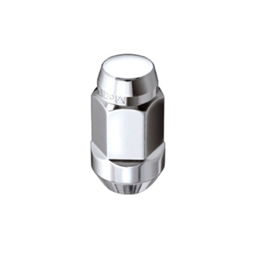 Bulge Cone Seat Style Lug Nut, M14 x 1.5 Thread Size McGard 64033 Chrome Set of 4