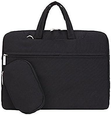 Buildings Art Street Laptop Shoulder Messenger Bag Case Sleeve for 14 Inch to 15.6 Inch with Adjustable Notebook Shoulder Strap