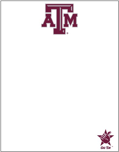 Texas A&M Aggies Dry Erase Message Board