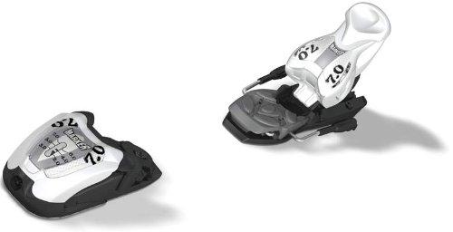 Marker M 70 EPS Ski Bindings White Black
