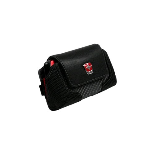 (Swiss Mobility Commander Pouch - Black )