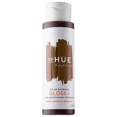 Conditioning Color Gloss (Color Boosting Gloss + Deep Conditioning Treatment Warm Brown Medium 6.5 oz)