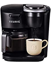 Keurig K-Duo Essentials Single Serve K-Cup Pod And Carafe Coffee Maker, With Pour and Pause Feature, Black