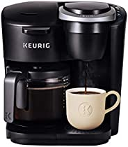 Keurig K-Duo Essentials Single Serve and Carafe Coffee Maker, Black