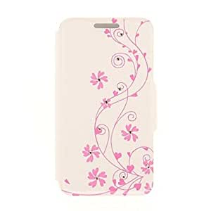 WQQ Kinston Line Lace Diamond Paste Pattern PU Leather Full Body Case with Stand for Samsung Galaxy Note 4