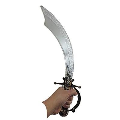 Plastic Pirate Cutlass Sword Costume Accessory: Toys & Games