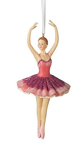 Ballerina Fifth Position Resin Stone Christmas Tree Ornament Home Garden Decor Seasonal Holiday