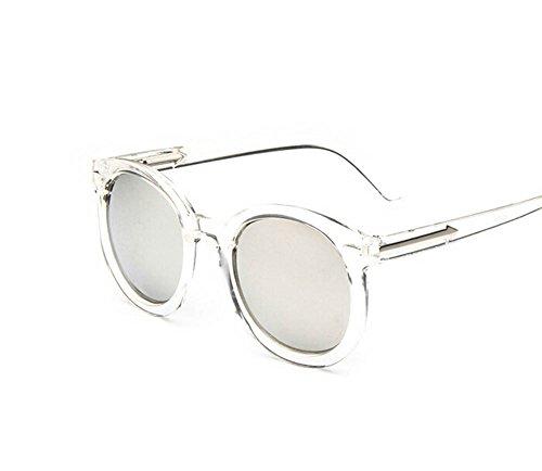las Mujeres de de y Película Gafas la Aire del Los Ruikey de la 7 Hombres Color de Transparentes Gafas Gafas al Sol Sol Para de Sol Libre Manera SxvvwF4Uq