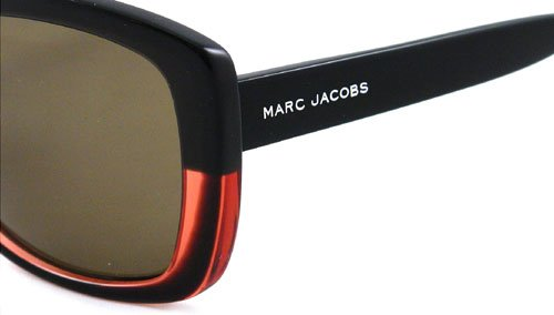 Sunglasses Black brown Plastic Frame 349 Marc Coral Jacobs Lens E8wqz