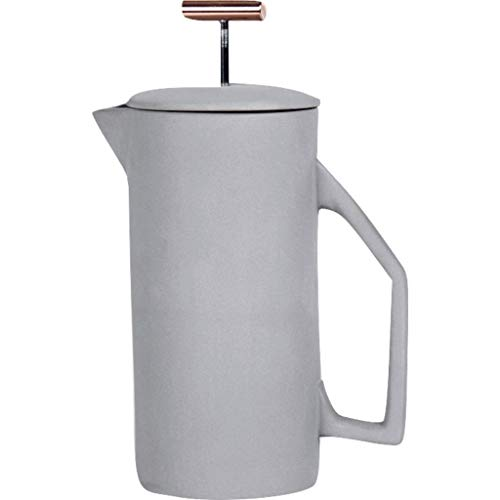 Yield Design 850mL French Press | Ceramic - Gray