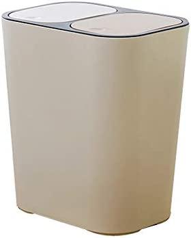 LZRZBH Cubo De Basura De Doble Presión De 15 litros ...