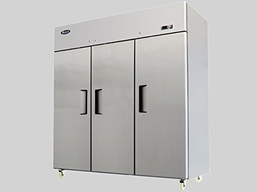New Commercial 3 Door Stainless Steel Freezer.
