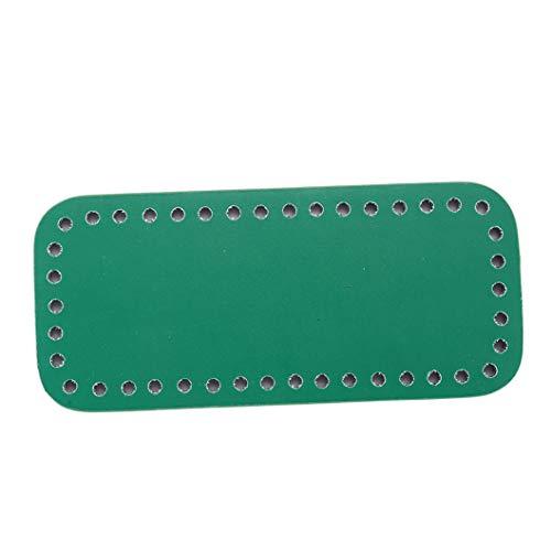 Fait Accessoires Main Pour Inseetbricolage noir Vert À Cuir Main Pu Sac En OYwf8qg