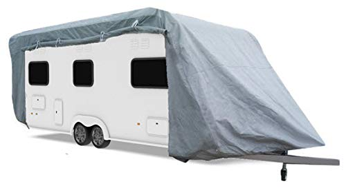HBCOLLECTION Caravan Protective Cover up to 6.4 m Length W: 2.25 x H: 2.20 m