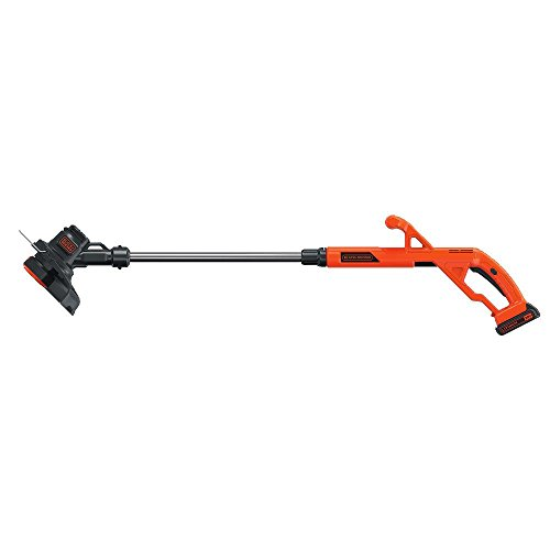 BLACK+DECKER LST201 20V MAX Lithium Ion String Trimmer/Edger, 10″