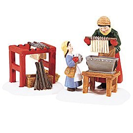 Dept 56 New England Village **Making the Christmas Candles** 56620