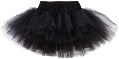 Sansha Little Girls' Tessa Skirt, Black ,Toddler(B)/2-4 (Sansha Skirt)