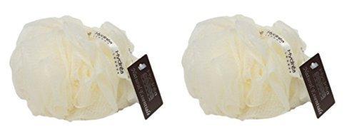 Hydrea Grande Batuffolo Esfoliante Corpo - Bagno & Doccia - Confezione Doppia (Crema)