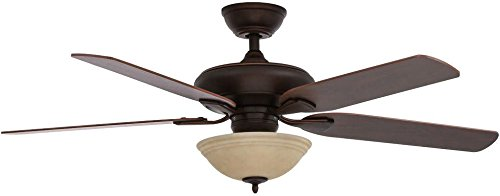 Hampton Bay Brushed Ceiling Fan (52