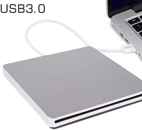 Lcxliga 外付けブルーレイDVDドライブUSBポータブル3DブルーレイCDプレーヤーUSB 3.0 CD/DVD-RAM/BD-ROMスーパードライブCD +/- RWバーナーリライター/リーダー