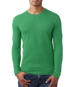 Next Level Apparel N8201 Next Level Unisex Long-Sleeve Thermal - Envy44; Small by Next Level Apparel