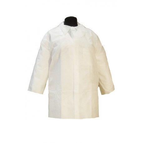 Bata desechable blanca Infantil Polipropileno. Caja 50 uds: Amazon.es: Bricolaje y herramientas