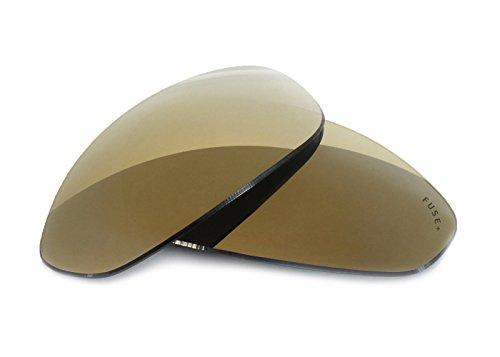FUSE+ Metallic Bronze Mirror Polarized Lenses for Oakley A Wire - Repair Lenses Oakley
