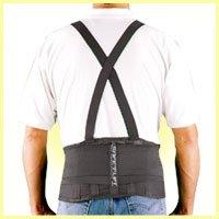 (Safe-T-Lift Back Support DX. Black. X-Large)