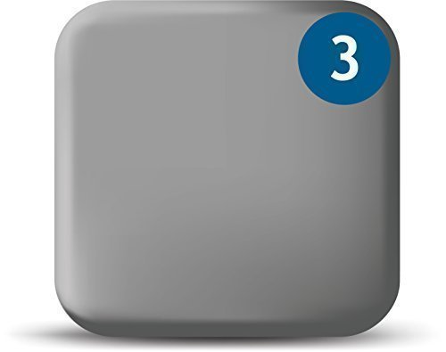 Price comparison product image WebCam Cover Silver 3 Pack - Macbook and Tablet Webcam Covers
