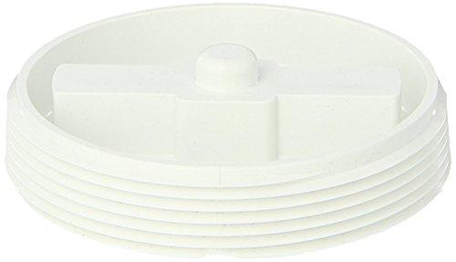 Plug 0.5 Cleanout (Spears P110 Series PVC DWV Pipe Fitting, Flush Plug, 4