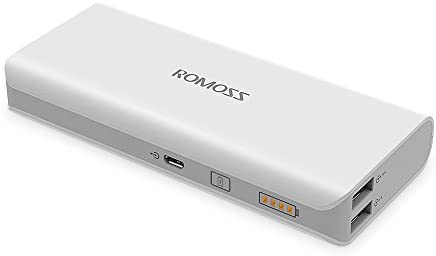 Romoss Bateria Externa para Movil 10000 mAh-Power Bank 2 Salida ...