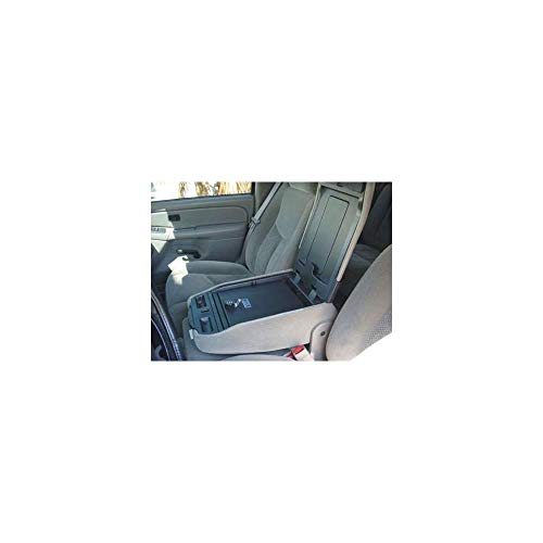 Console Vault Truck Console Safe for Silverado / Sierra / Avalanche Fold Down Armrest Console