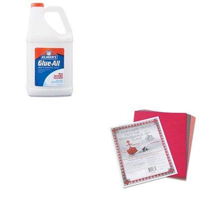 KITEPIE1326PAC103637 - Value Kit - Elmer's Glue-All White Glue (EPIE1326) and Pacon Riverside Construction Paper (PAC103637)