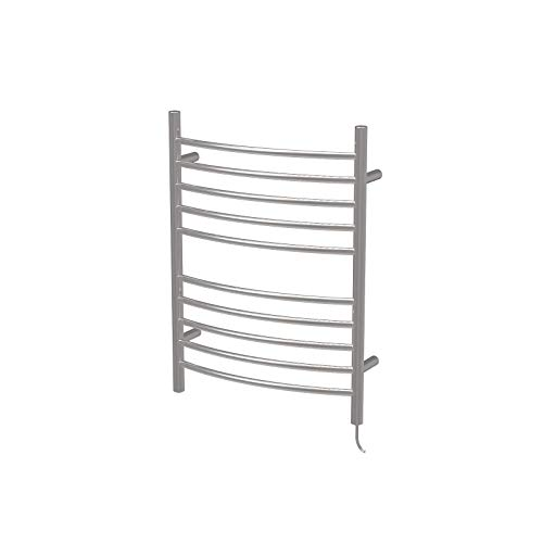 (Amba RWP-CP Radiant Plug-In Curved Towel Warmer, Polished)