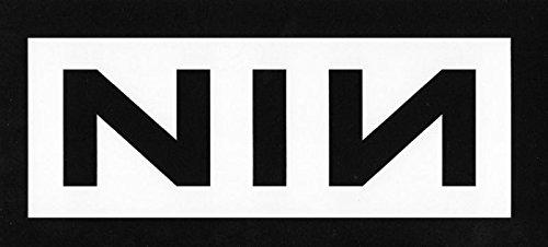 - NINE INCH NAL ROCK BAND NIN LOGO STICKERS ROCK BAND SYMBOL 6