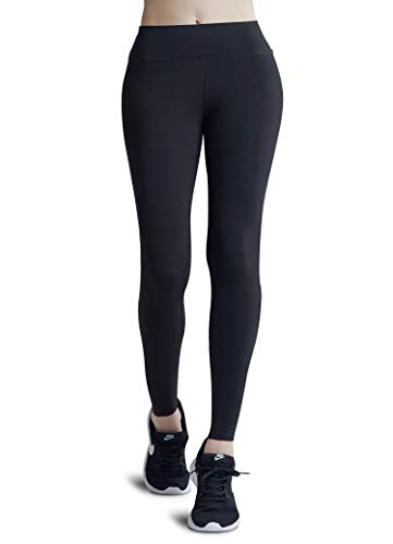 (Sunzel Leggings for Women, Super Soft Slimming Leggings with Tummy Control - 2019 Upgraded Version Black )