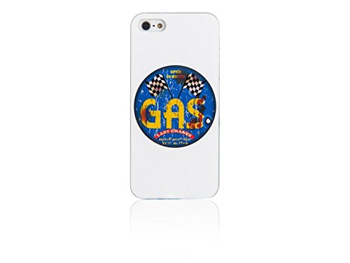 Spada coque iMD 008745 smartphone de protection d'écran pour iPhone 5/5S-blanc-gaz