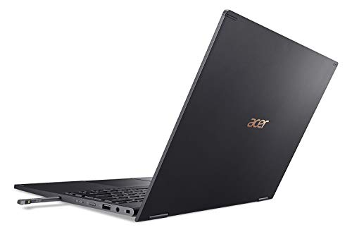 "Acer Spin 5 Convertible Laptop, 13.5"" 2K 2256 x 1504 IPS Touch, 10th Gen Intel Core i7-1065G7, 16GB LPDDR4X, 512GB NVMe SSD, Wi-Fi 6, Backlit KB, FPR, Rechargeable Active Stylus, SP513-54N-74V2"